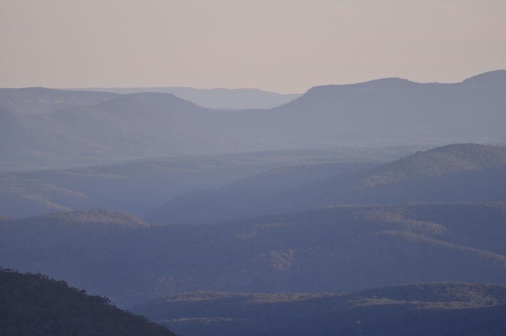 Die Blauen Berge