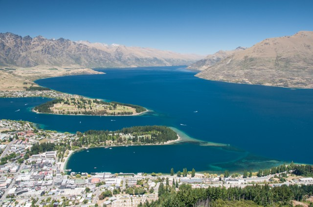 Queenstown and Lake Wakatipu