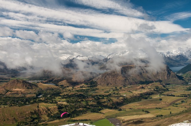 Remarkable Range and Frankton/Queenstown