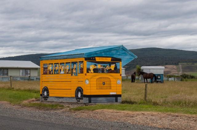 Simpson's Bus Stop