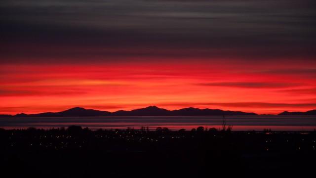 Another amazing sunrise, shot around 7:30 am