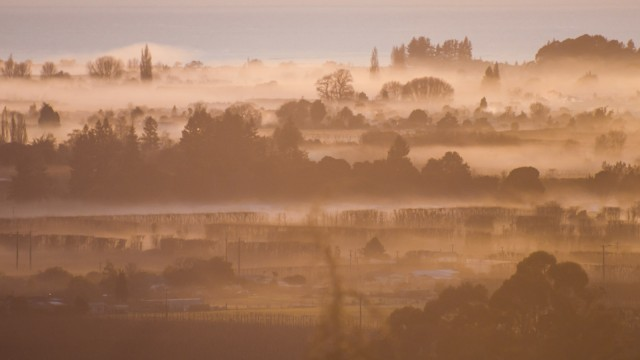 Fog over Motueka