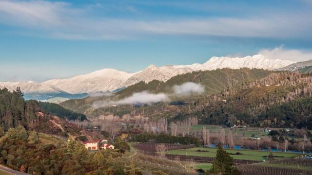 Motueka Valley in Winter