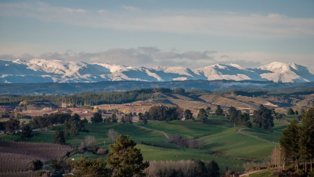 SE View to Nelson Ranges