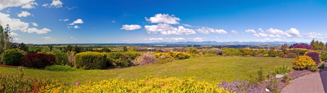 180° panorama of the Tasman bay