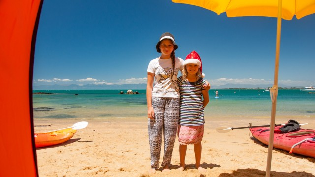 Haging out with friends at Dummy Bay all Christmas day
