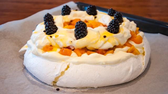Pavlova, a must have dessert in NZ!