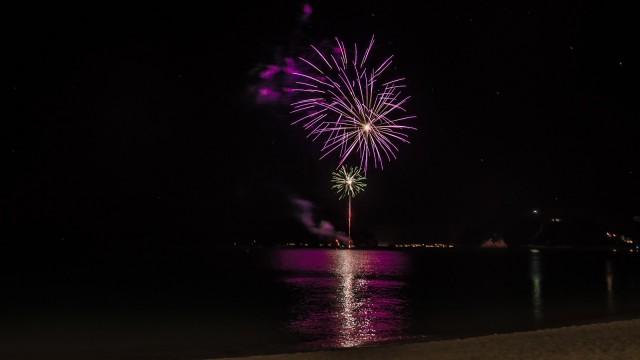 Main fireworks were...