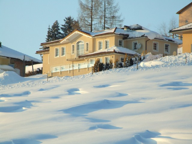 Plenty of snow in winter
