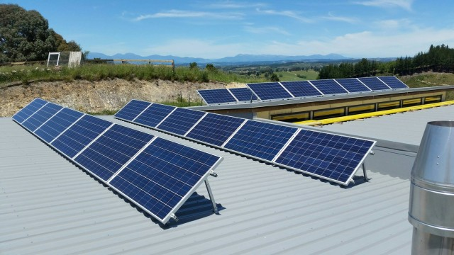 Our KW photovoltaic array