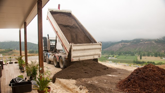 We had to buy some truck loads of good top soil