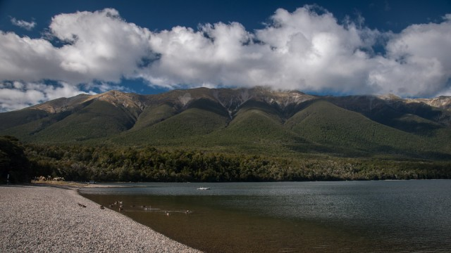 Lake Rotoiti, short walk to move the legs.