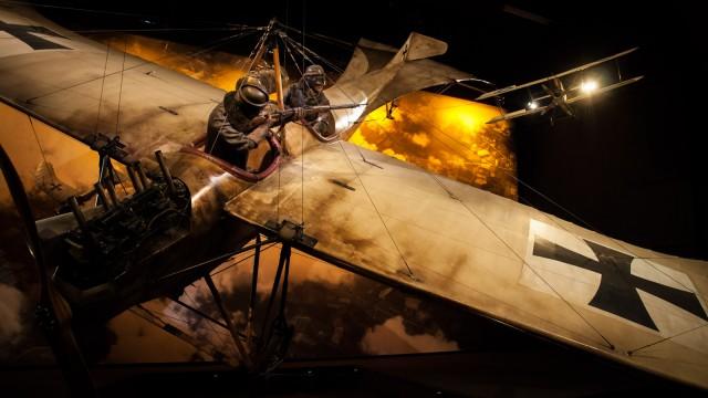 Next stop: Omaka Aviation Heritage Centre Blenheim