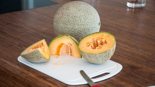 Year 1 harvest: 6 rock melons
