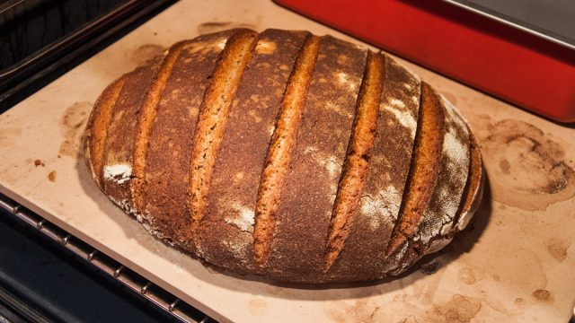 Tadaaa!! Excellent crust!