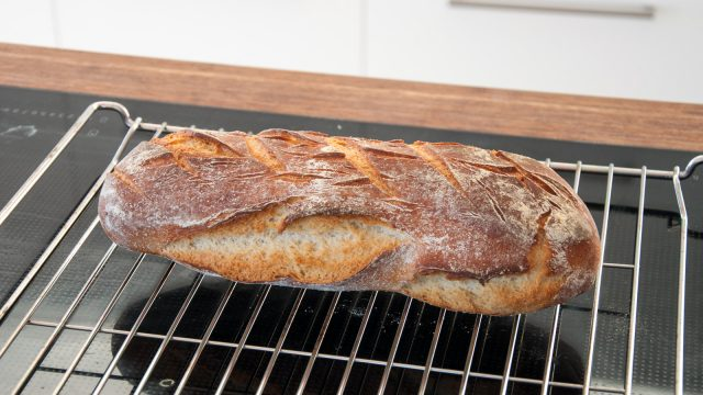 Great, cracking crust
